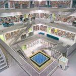 Klimatizacija knjiznice -knjiznica Stuttgart